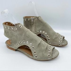 Ron White Stone Astra Suede Sandals